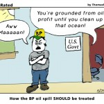 How the BP oil spill SHOULD be treated